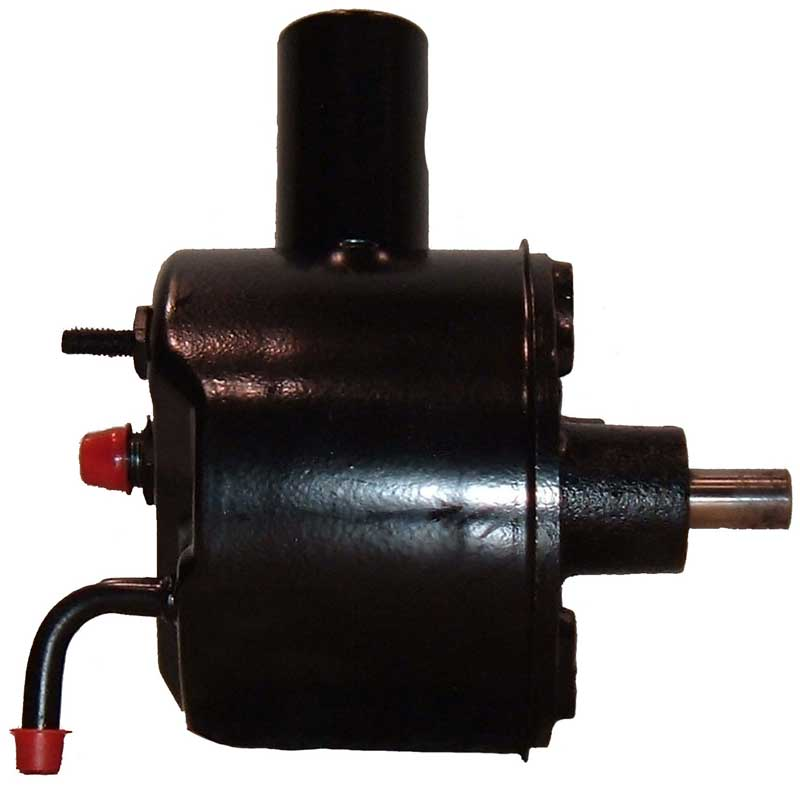 1965-66 Mustang Power Steering Pump with Reservoir; w/Ford Pump; with Rear Mount; W/O A.C. - Remanufactured