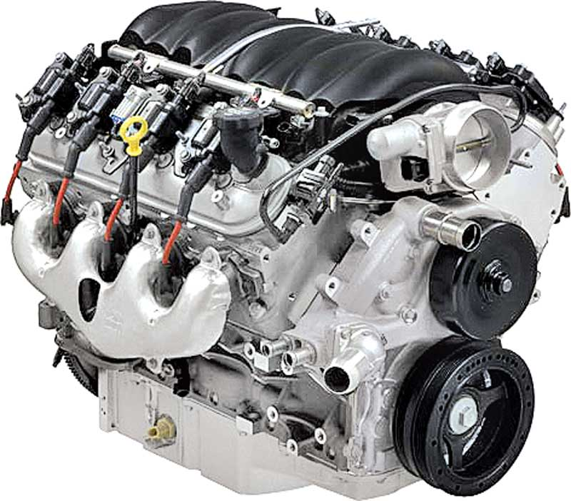 Chevrolet Performance 19370416 - LS3 6.2L Deluxe Crate Engine