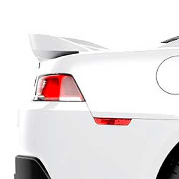 2014-15 Camaro Coupe W/Out Factory Spoiler - Z28 Style Rear Spoiler - Summit White (GAZ)
