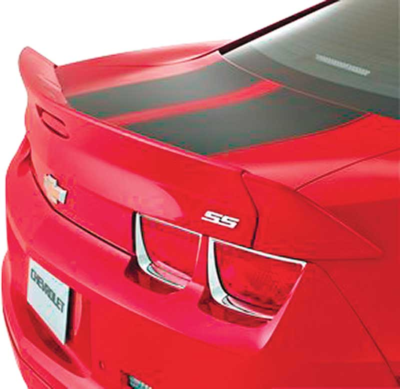 2012-13 Camaro Coupe 3Pc Dovetail Spoiler W/ 3rd Brake Lamp - Crystal Red (GBE)