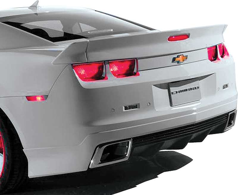 2012 Chevrolet Camaro Parts | G15003 | 2010-12 Camaro Coupe 3Pc Dovetail  Spoiler W/ 3rd Brake Lamp - Cyber Gray (Gbv) | Classic Industries
