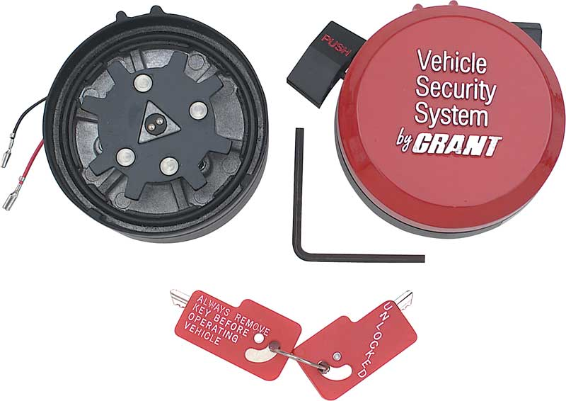 Grant No Wheel No Steal Security System