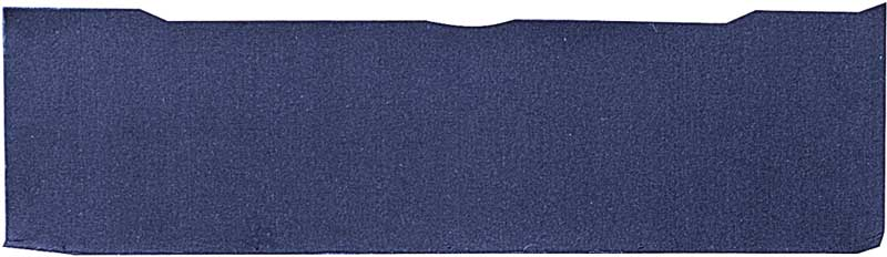 1988-91 GM Truck Rear Side Carpet RH Blue - NOS GM