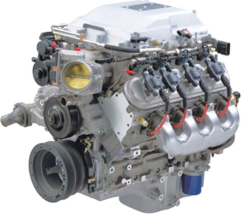 LSA 6.2L/556HP Supercharged Engine
