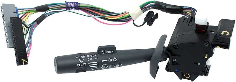 1995-02 GM C/K (GMT400 Series) Truck Turn Signal/Wiper Switch Without Cruise Control