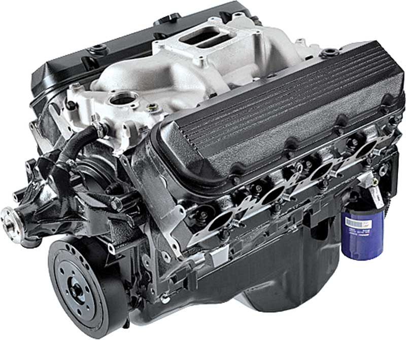 502 HO 8.2L GM Performance parts Base Crate Engine