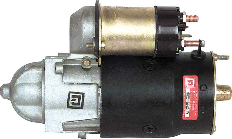 1967-80 Chevy 2 Bolt Staggered Mount 168 Tooth Alum nose High Torque Remanufactured GM Starter Motor