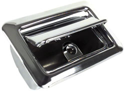 1967-76 Rear Quarter Ash Tray Assembly With Ribbed Lid