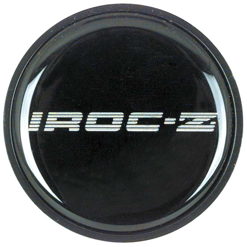 IROC-Z Style Wheel Center Cap Emblem Silver