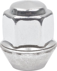 Polished Short Capped Lug Nut 7/16-20