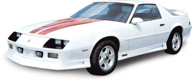1992 Chevrolet Camaro Parts | G9888 | 1992 Camaro RS Red 25th Anniversary  Heritage Hood Stripes | Classic Industries