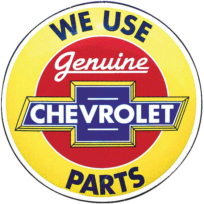 Genuine Chevrolet Parts Counter Stool