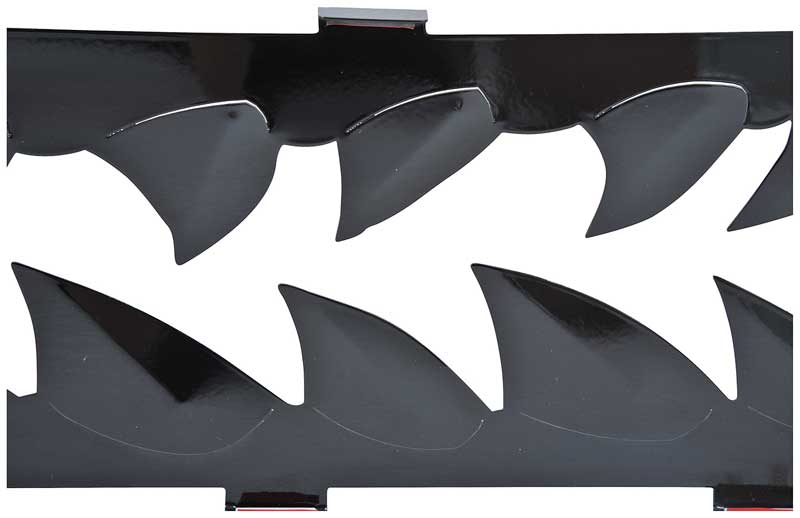 2010-13 Camaro SS V8 Lower Grill - Shark Tooth Style - Black