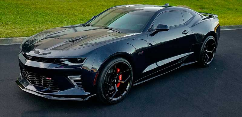 2016 17 Camaro Ss Acs 1le Style Front Splitter