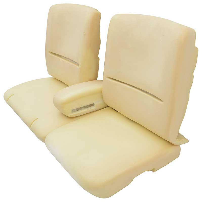 1978-87 Buick Regal 55/45 Split Bench Seat Foam Set
