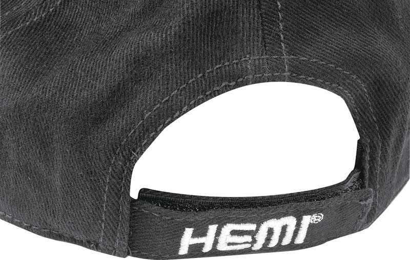 Dodge Hemi Embroidered Black Low Profile Cotton Twill Cap