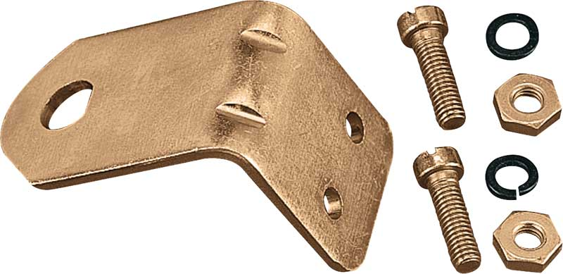 Holley Universal Choke Cable Mounting Bracket