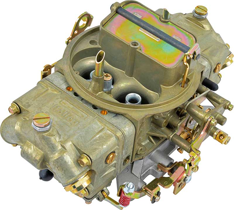 Holley 4150 Series 750 CFM 4 Bbl Carburetor with Mechanical Secondary and Manual Choke
