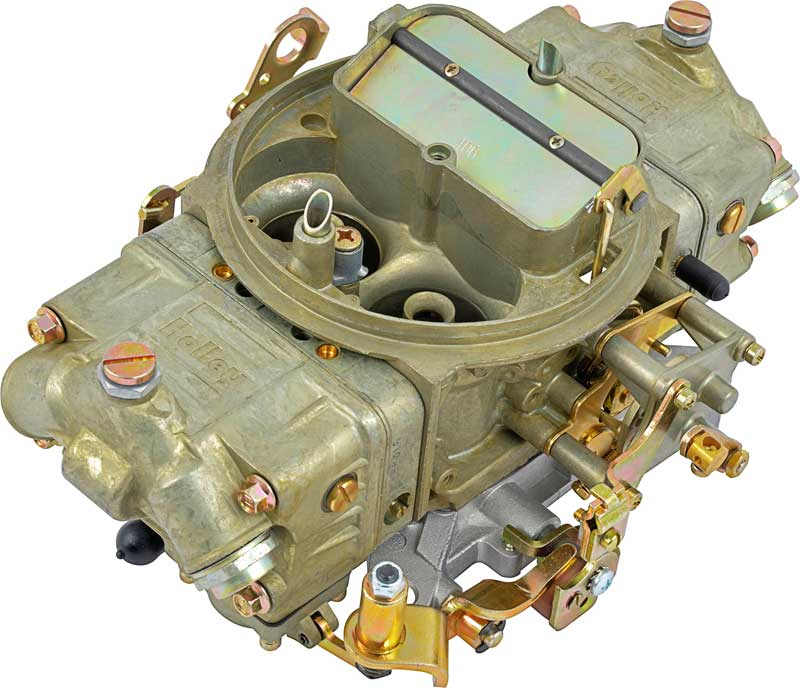 Holley 4150 Series 850 CFM 4 Bbl Carburetor With Mechanical Secondary And Manual Choke