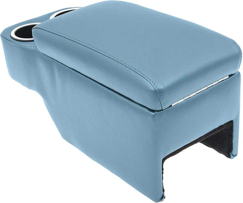 1968-69 Camaro With Bucket Seats - Bright Blue Saddle Mount Console