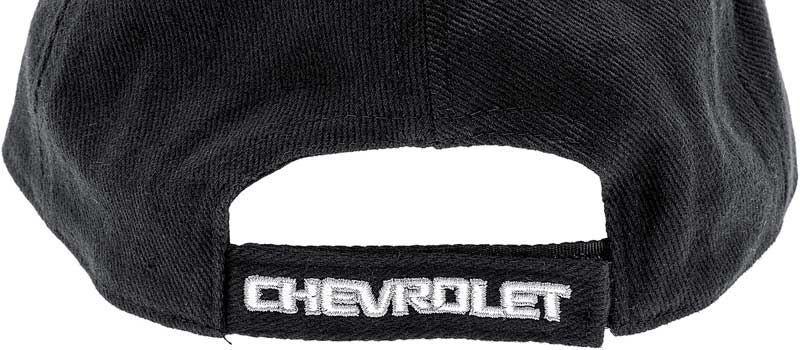 Chevrolet Bow Tie Cap Black And Charcoal