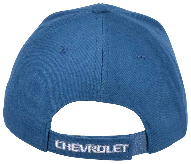 Chevrolet Bow Tie Cap - Blue And Charcoal