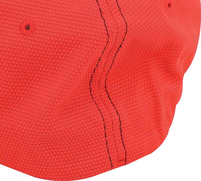 Chevy Bow Tie Flex Fit Cap - Red - Large/X-Large