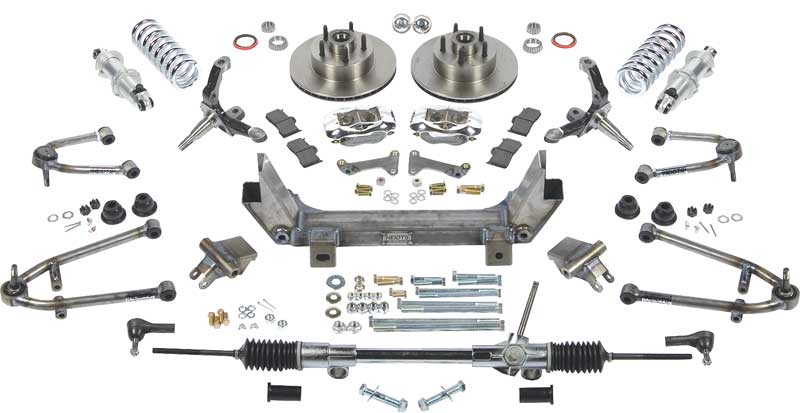 1947-54 GM Truck Small Block Superide II Conversion With Power Rack And Pinion
