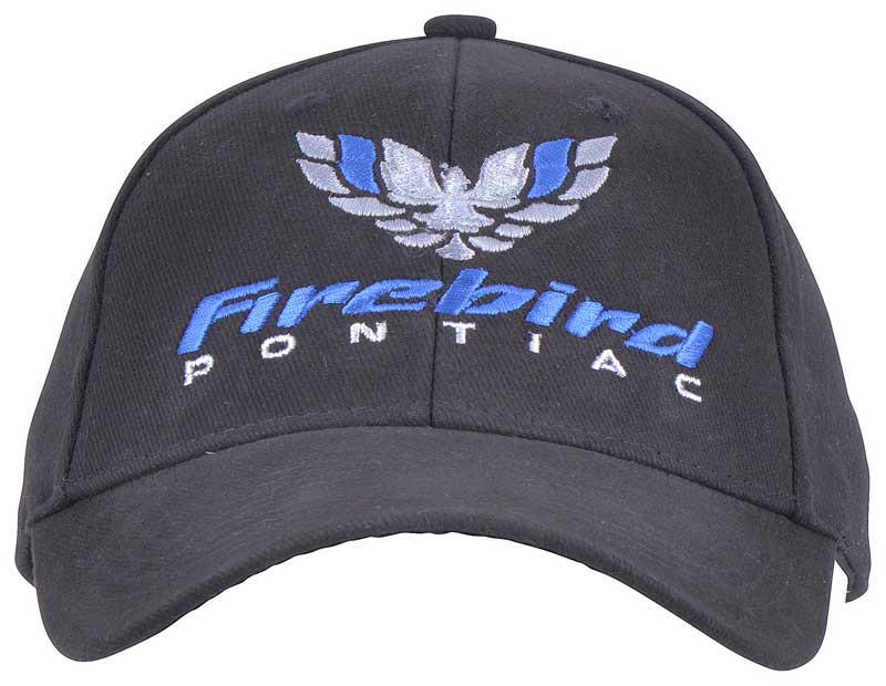 Firebird Bird Logo Cap (Black/Black)