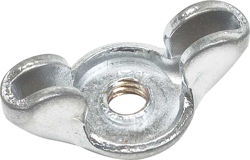 Chrome Air Cleaner Wing Nut - 1/4-20