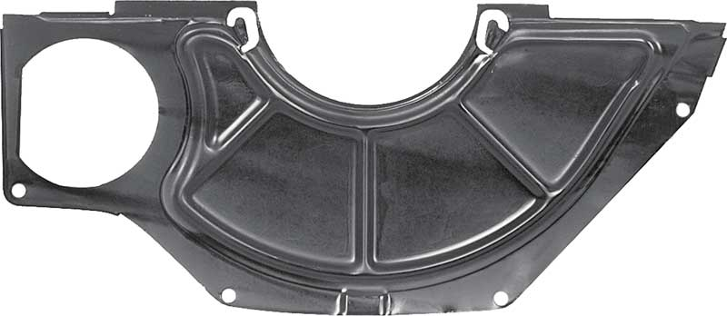 Flywheel/Clutch Dust Cover For Use On Models With 10-1/2 Bellhousing And Muncie Transmissions