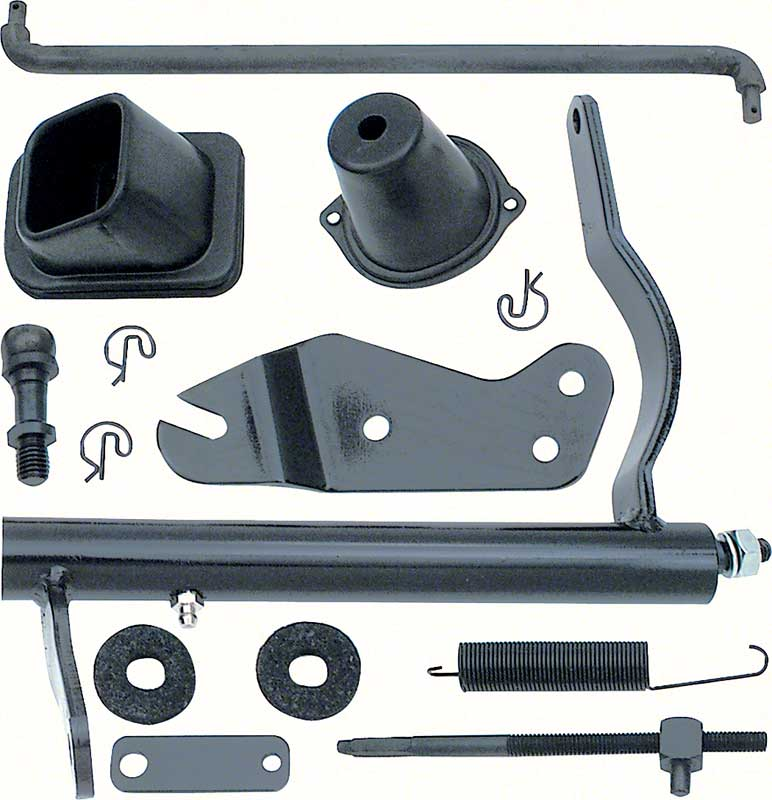 1967 Clutch Linkage Kit - Big Block