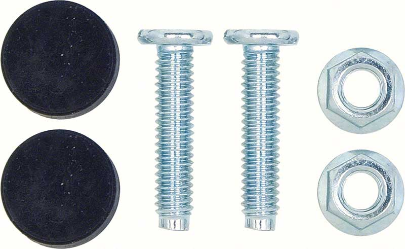 1967-69 Camaro / Firebird Hood Adjuster Screw/Bumper Set