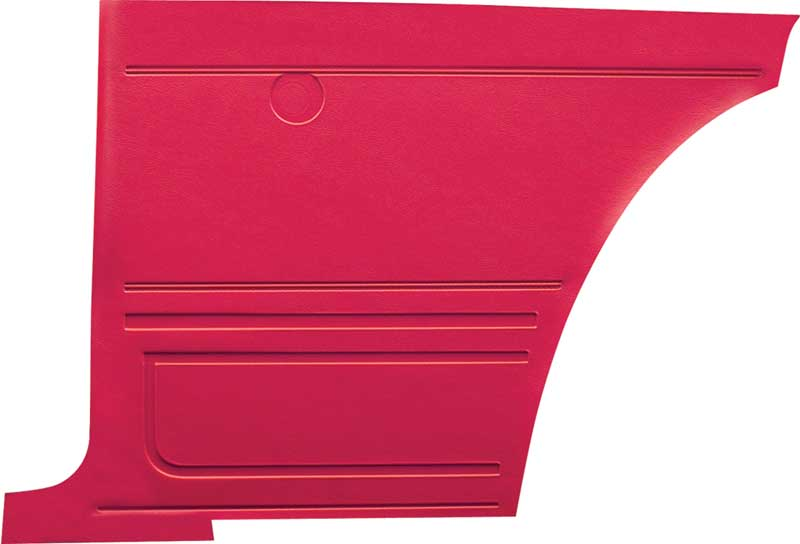 1967 Camaro Coupe Red Restorer's Choice™ Non-Assembled Standard Rear Inner Panels