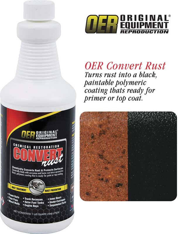 OER® Rust Converter - 1 Quart Bottle