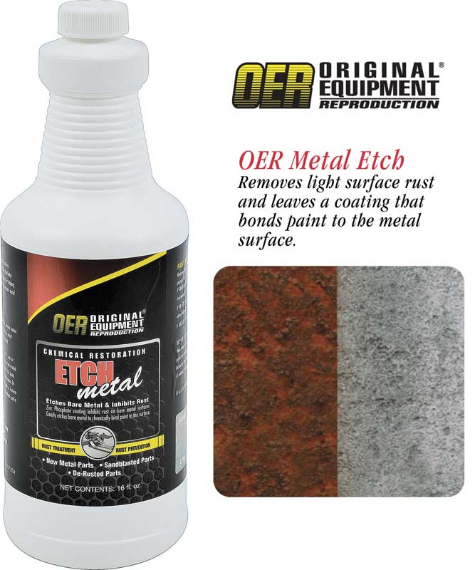 OER® Metal Etch - 1 Qt Bottle
