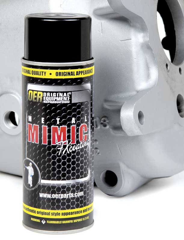 OER® Metel Mimic FX Stainless Steel Paint - 16 Oz Aerosol Can