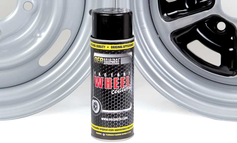 1970-81 Shadow Gray OER® Factory Wheel Coating Wheel Paint 16 Oz Can