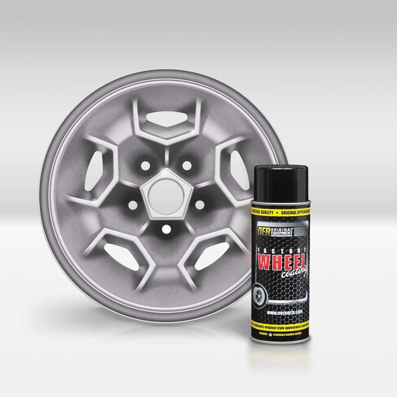 Simulated Magnesium OER® Factory Wheel Coating Wheel Paint 16 Oz Can