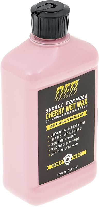 OER® Secret Formula 12Oz Liquid Carnauba Cherry Wet Wax Creme