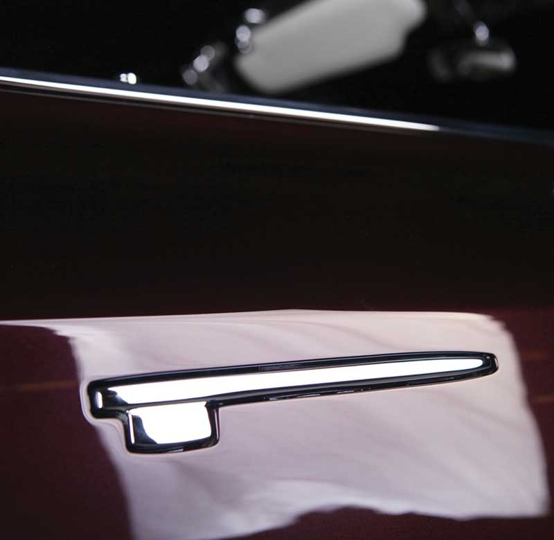 Square Style Door Handles by Kindig-it Design - Chrome