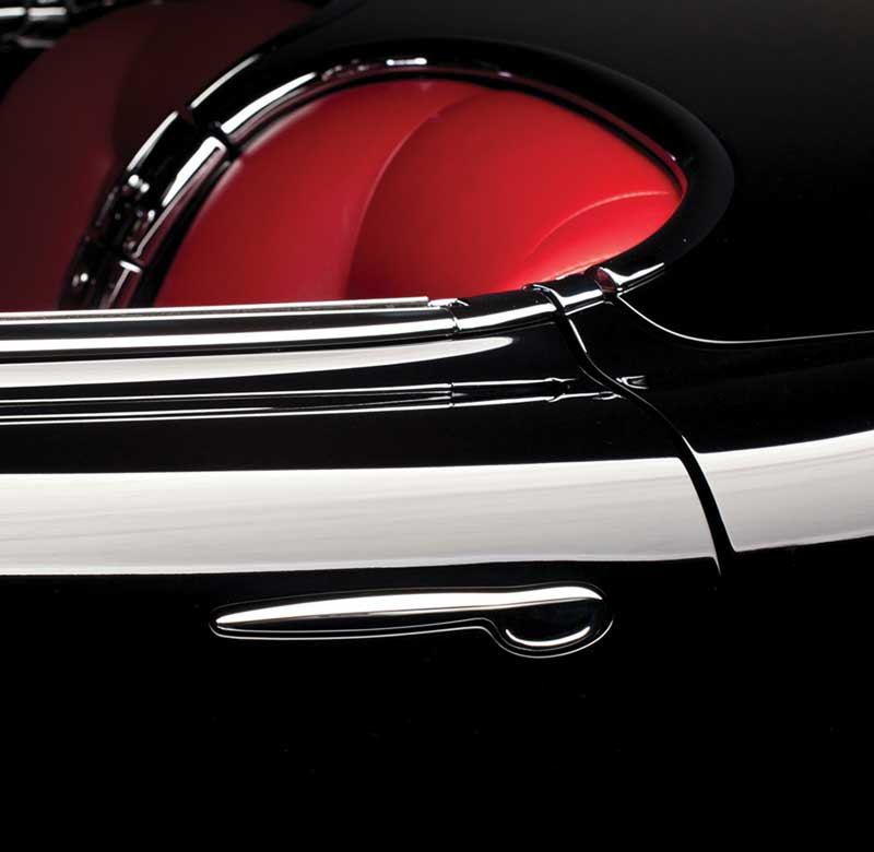 Classic Spoon Style Door Handles by Kindig-it Design - Chrome