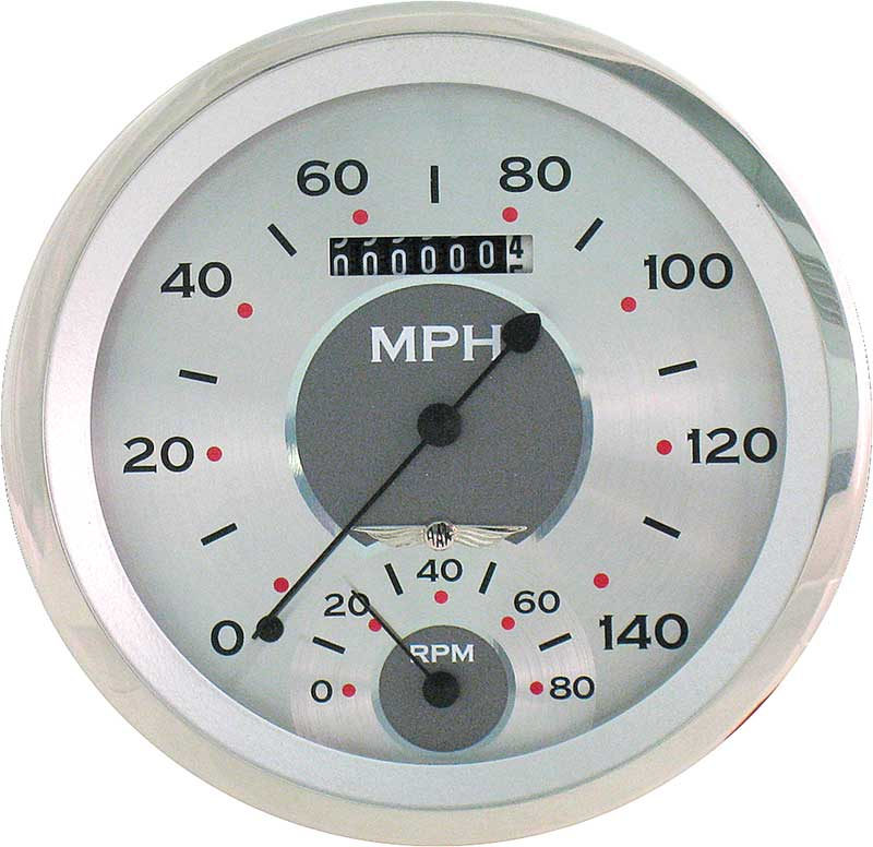 1959-60 Impala / Full Size Classic Instruments All American Series SpeedTachular Gauge Kit