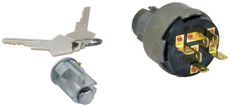1960-1968 All Makes All Models Parts   *MD2685   1960-68 Mopar A / B-Body -  Ignition Switch With Lock Cylinder & Keys Set   Classic Industries