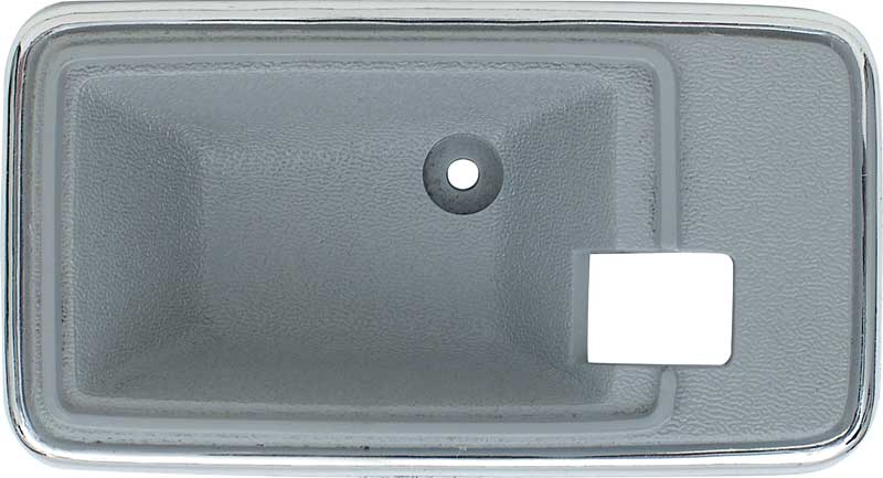 1975-82 GM Inner Door Handle Escutcheons - Slate Gray