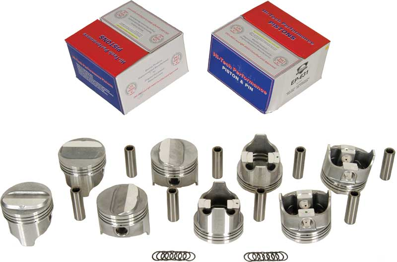 1967-69 Z28 302 High Performance +.030 Bore Piston Set