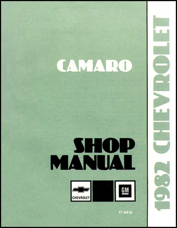 1982 Chevy Service/Shop Manual Set