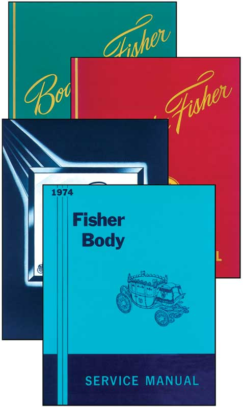 1961 Fisher Body Manual