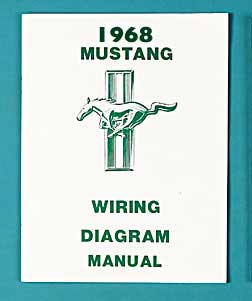 1968 All Makes All Models Parts Fd6004 1968 Mustang Wiring Diagram