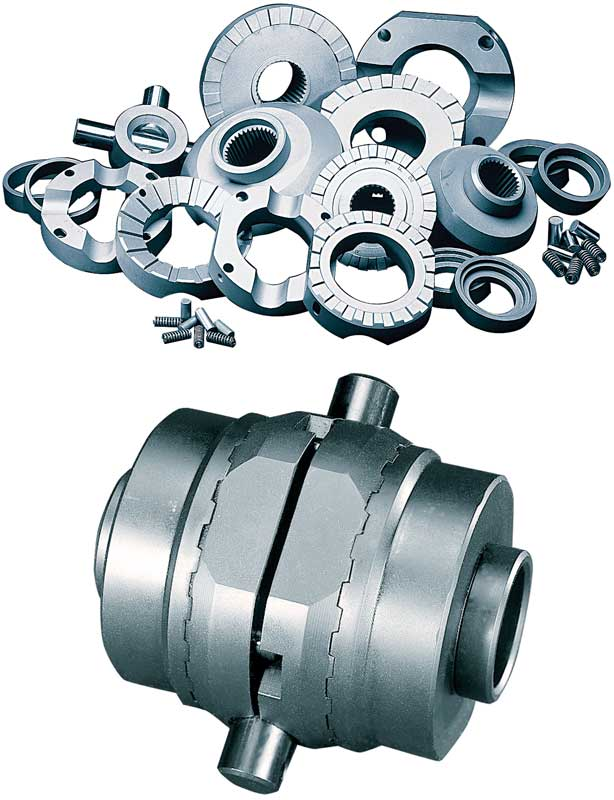 12 Bolt Lock Right Positive-Locking Differential for 8.875 Ring Gear, 30 Spline Axle Open Case